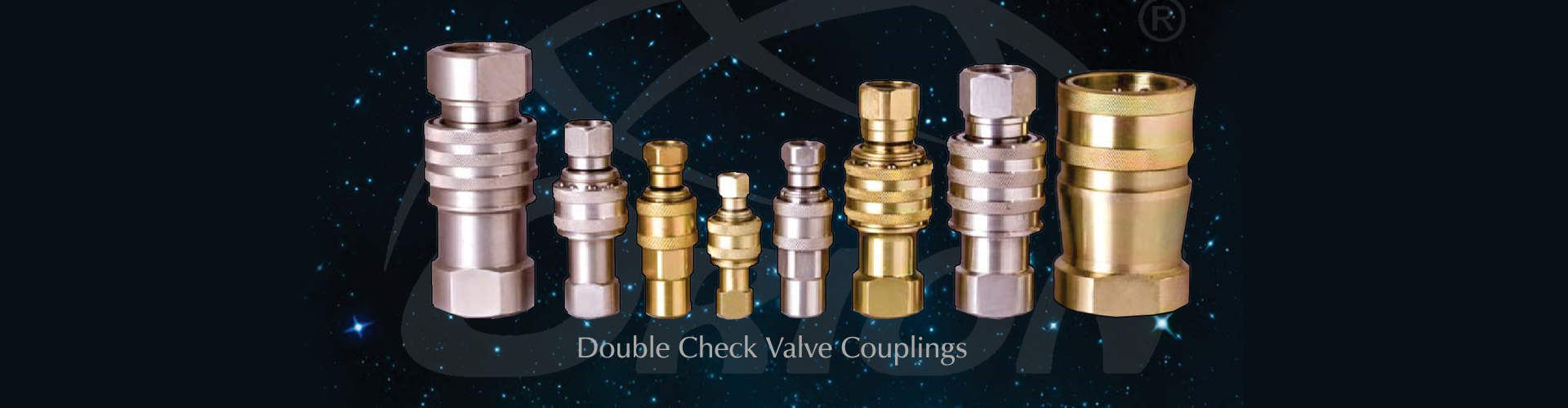 double check valve couplings